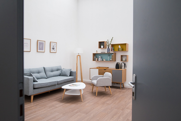 Entrez dans le studio photos d'Aurore. Un studio lifestyle et boudoir à la fois !