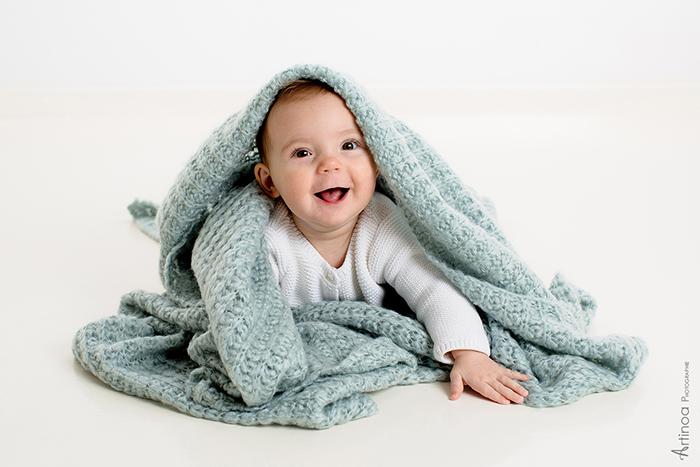 Une photo issue d'une séance enfant, pour montrer comme le métier de photographe est passionnant !