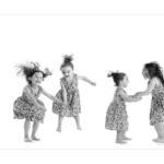 Portrait d'enfant au format panoramique par le Studio de photographes de Sanary. Meilleur Ouvrier de France.