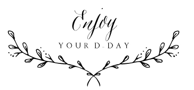 "Logo du photographe ""enjoy your day"""