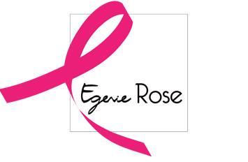 """Logo du projet photo """"Egerie Rose"""", un portrait de femme pour les aider à se reconstruire après un cancer du sein."""