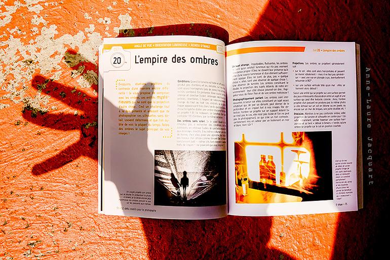Créativité et photographie : 52 défis créatifs, le nouveau livre d'Anne-Laure JACQUART !
