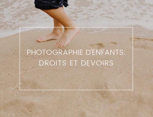 Photographie d'enfants : Droits et devoirs