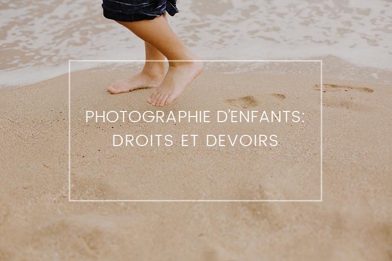 La photographie d'enfants : droits et devoirs. Un nouveau livre de Joëlle Verbrugge, auteur, photographe et avocate.