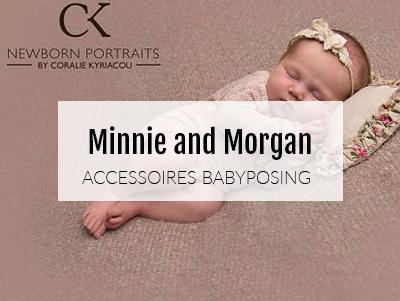 Accessoires pour les séances photos avec nouveau-né.