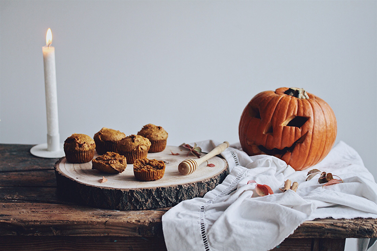 Photographie culinaire pour Halloween