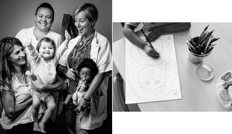 Projet photo engagé : le reportage d'un service d'hôpital pour enfants avec des pathologies graves.