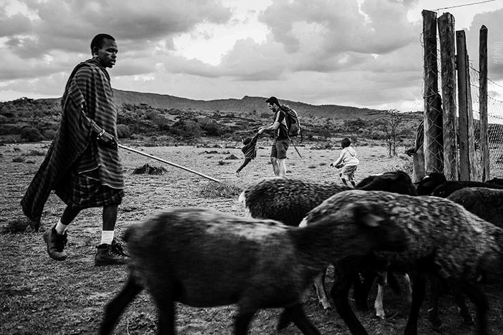 Photo de voyage au Kenya.