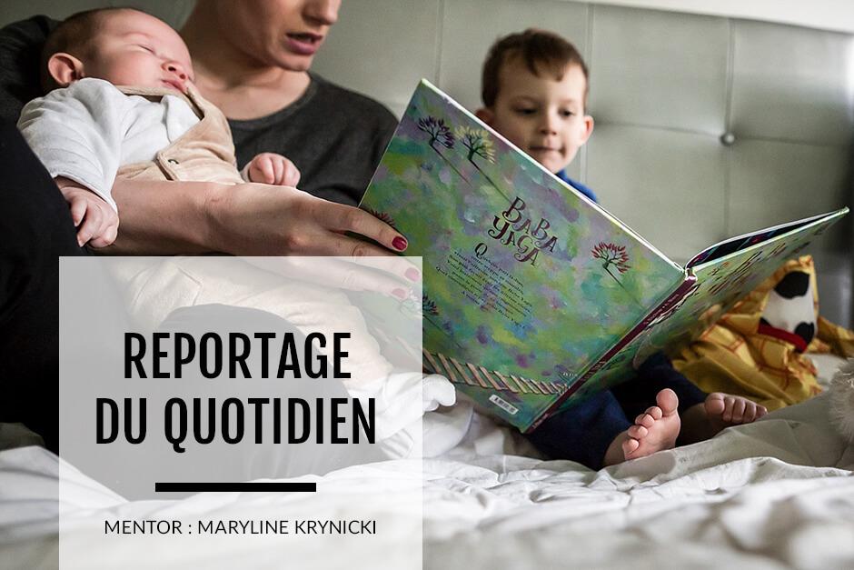 Formation photo, en ligne, sur le reportage de famille.