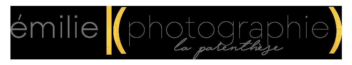 Logo Emilie K Photographie