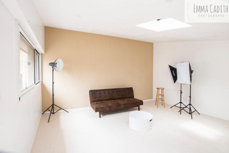 De modèle à photographe de studio…