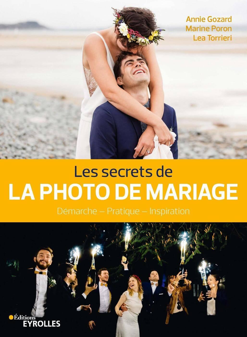 couverture du livre : les secrets de la photo de mariage