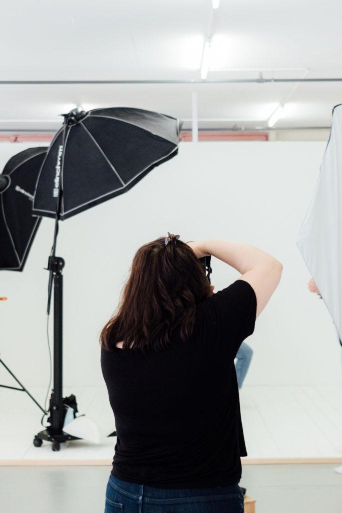 formation photographe en studio éclairage flash